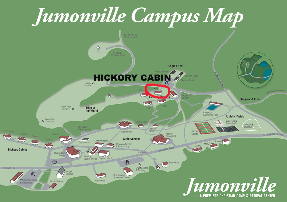 Hickory Cabin Campus Map