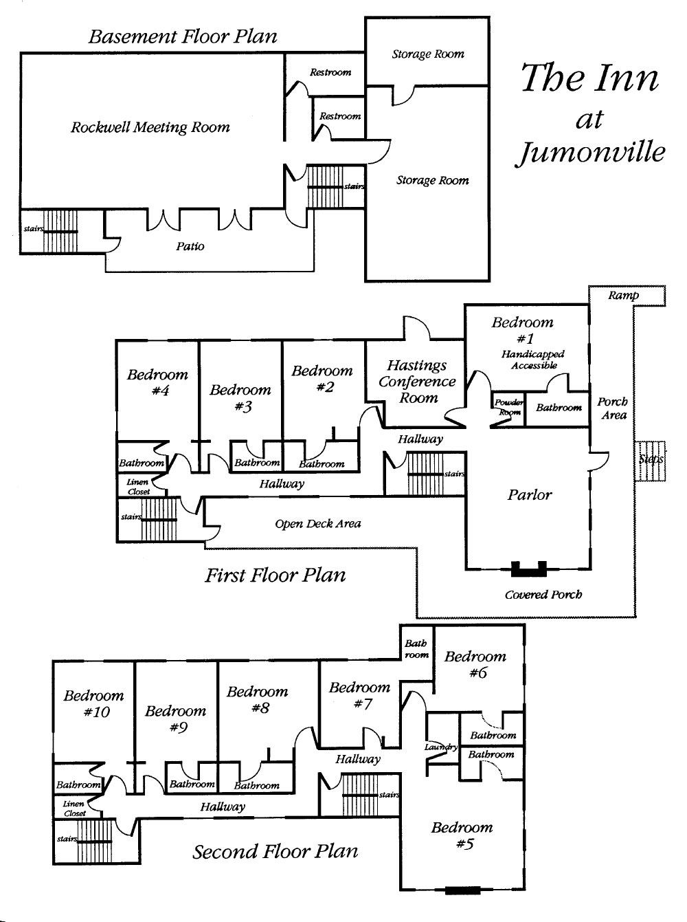 Inn at Jumonville Floor PLan