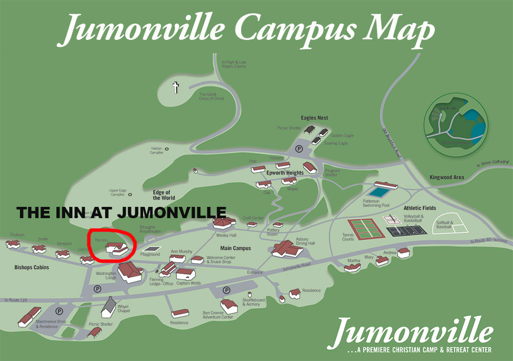 Inn at Jumonville Campus Map
