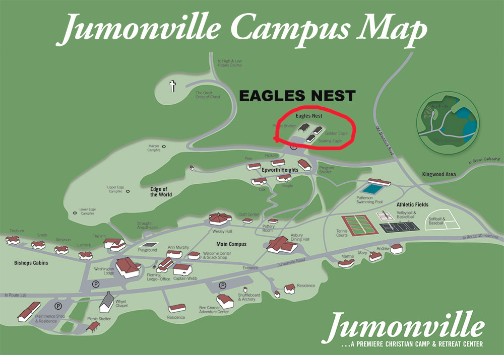 Eagle's Nest Campus Map