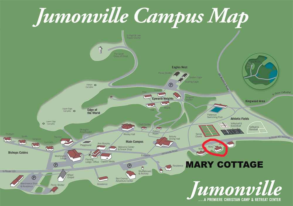 Mary Cottage Campus Map