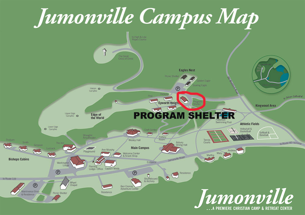 Program Shelter Campus Map