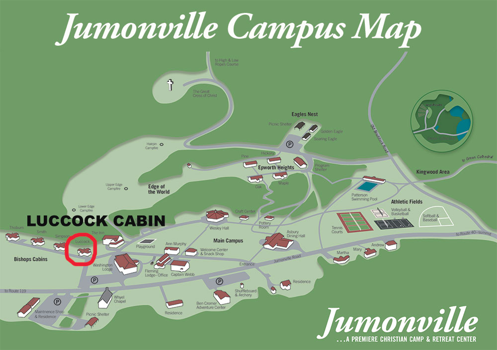 Luccock Campus Map