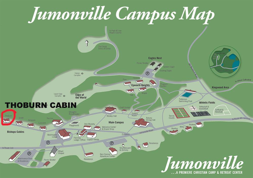 Thoburn Campus Map