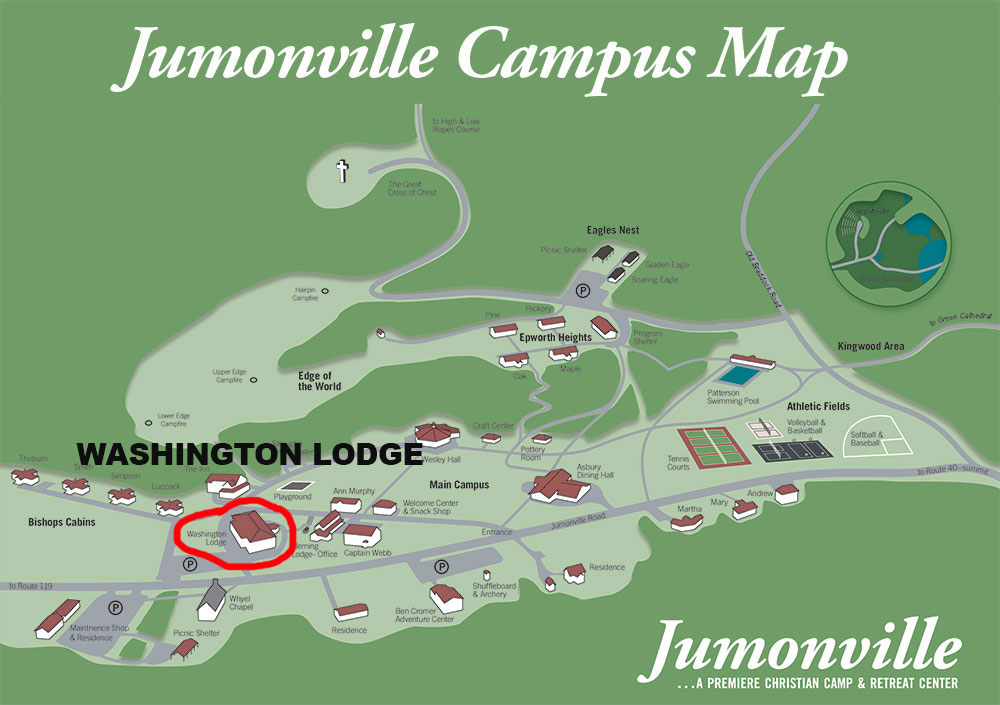 Washington Lodge Campus Map