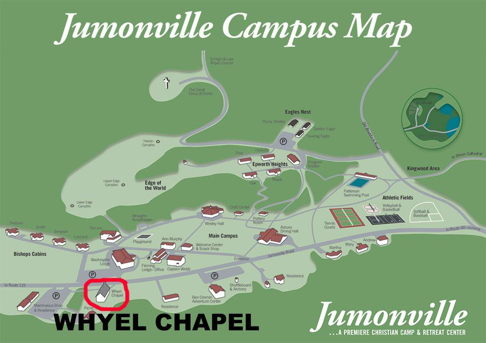 Whyel Chapel Campus Map