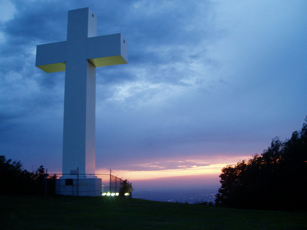 cross sunset 4 powerpoint